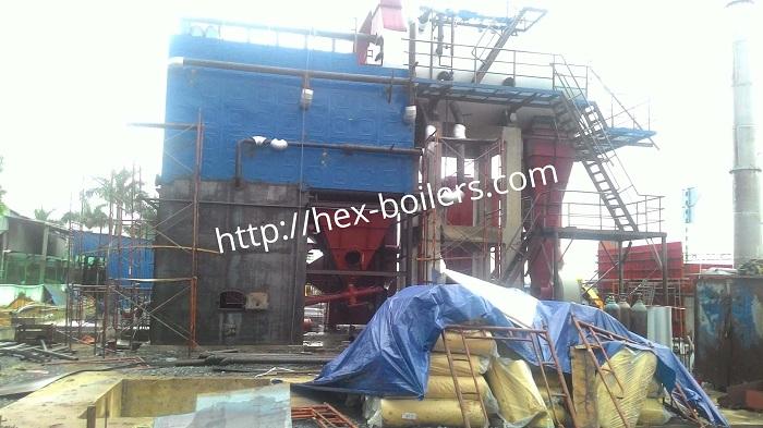 Lắp đặt lò hơi tầng sôi tại Quảng Ngãi